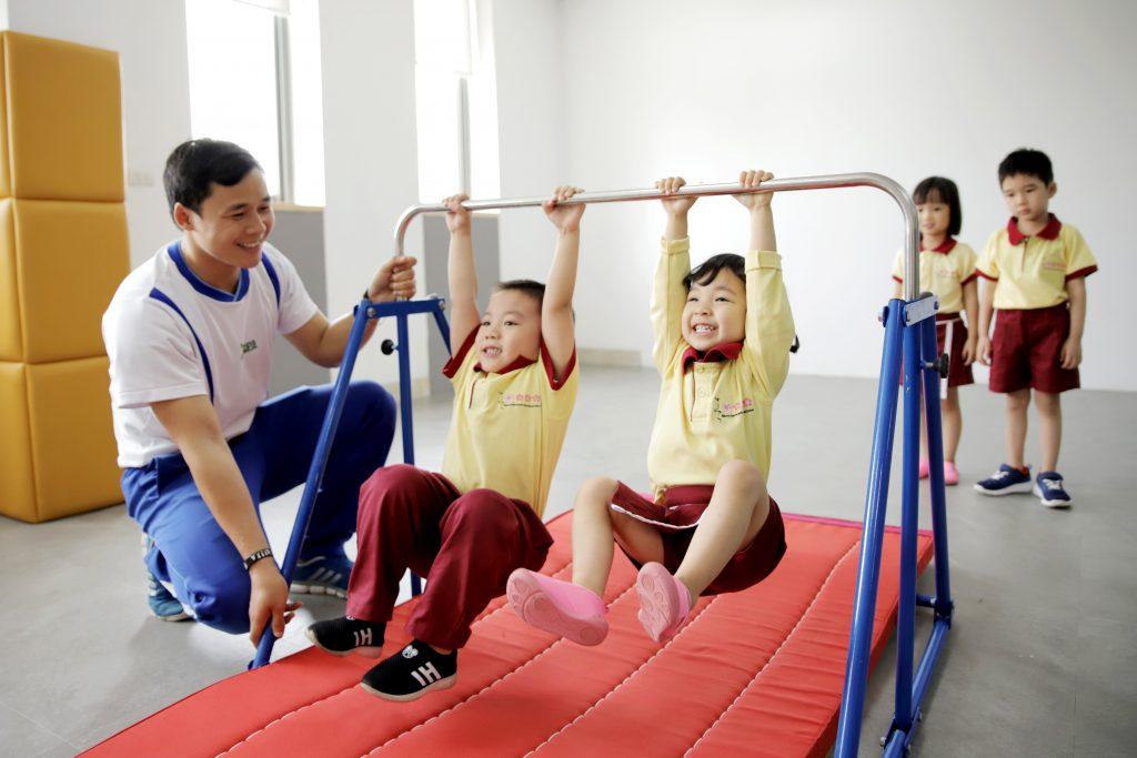 Chương trình thể chất JACPA Nhật Bản phát triển vượt trội chiều cao cân nặng của trẻ - Ảnh 1