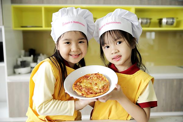 Chương trình dinh dưỡng tối đa hoá thực phẩm hữu cơ tại Sakura Montessori