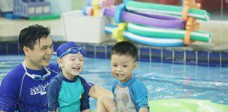 Khám phá trường bơi chuẩn Mỹ đầu tiên tại Hà Nội