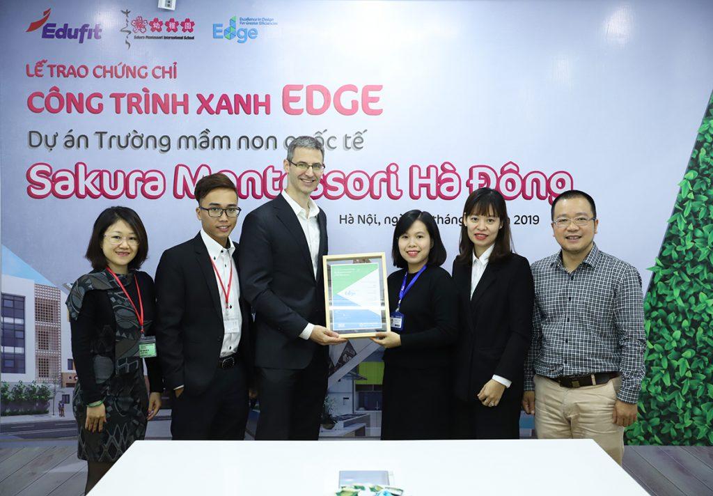 Trường mầm non quốc tế đạt chứng chỉ xanh EDGE đầu tiên tại Việt Nam