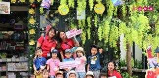 Các bạn nhỏ Sakura Montessori Lương Yên có những trải nghiệm gì tại Phố sách 19/12?