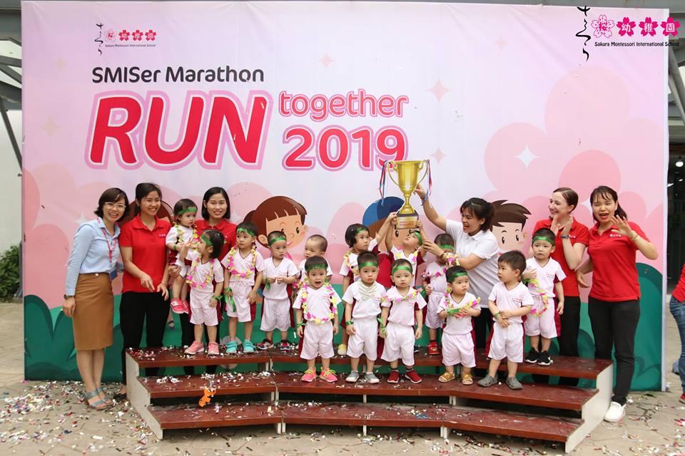 Một ngày làm vận động viên Marathon của các SMISers khối 0-3