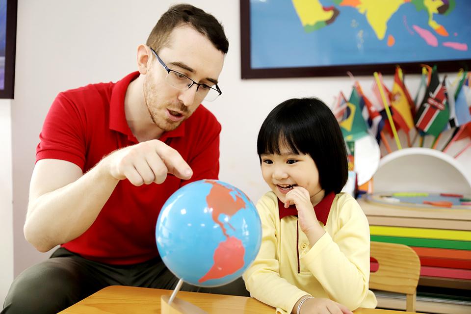 Phương pháp dạy tiếng Anh cho trẻ thời 4.0 của trường mầm non song ngữ tại Hà Nội