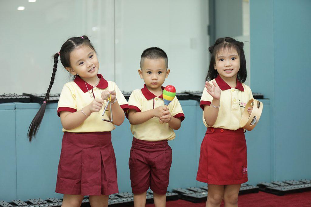 Sakura Montessori đưa vào giảng dạy chương trình âm nhạc Echo Music hoàn toàn khác biệt