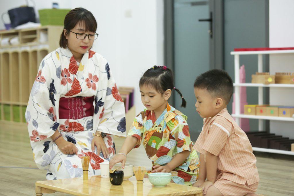 Sakura Montessori Hồ Chí Minh triển khai chương trình Văn hóa Nhật và Echo Music trong năm học 2019 - 2020