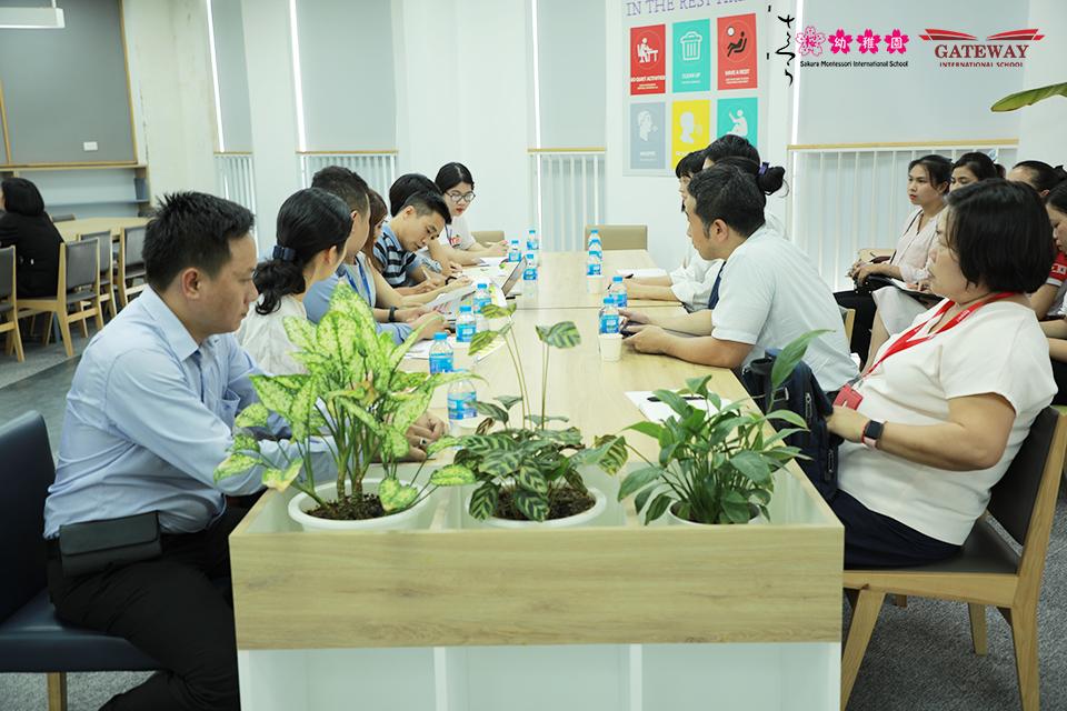 Sakura, Gateway hợp tác cùng đối tác Nhật Bản nâng cao nhận thức về dinh dưỡng cho phụ huynh và học sinh