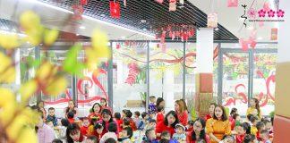 Cùng con trải nghiệm Tết quê hương tại Sakura Montessori Cầu Giấy 10
