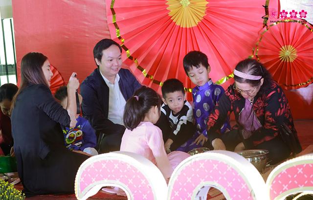 Cùng con trải nghiệm Tết quê hương tại Sakura Montessori Cầu Giấy 3