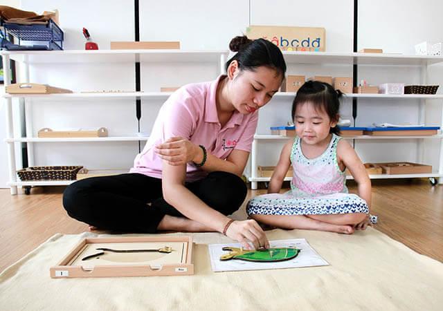 Sakura Montessori Hạ Long triển khai hệ Nâng cao cho trẻ mầm non 1