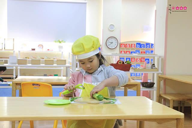 Sakura Montessori Hạ Long triển khai hệ Nâng cao cho trẻ mầm non 3