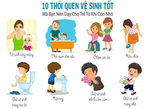 Kỹ năng sống cho trẻ mầm non 1