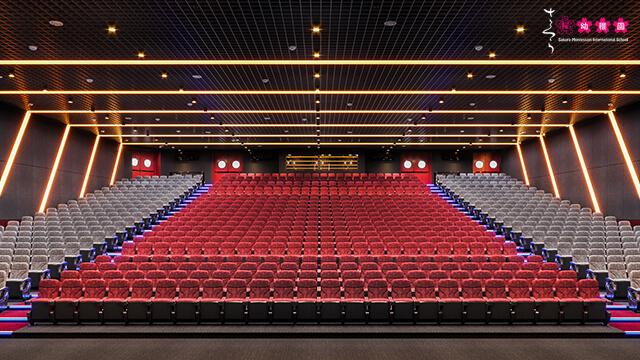 """Hé lộ hình ảnh Nhà hát 1000 chỗ cực """"hot"""" tại công trình Sakura Montessori Tây Hồ Tây 3"""