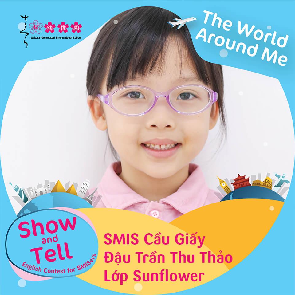 SMIS Cầu Giấy - Đậu Trần Thu Thảo - Lớp Sunflower