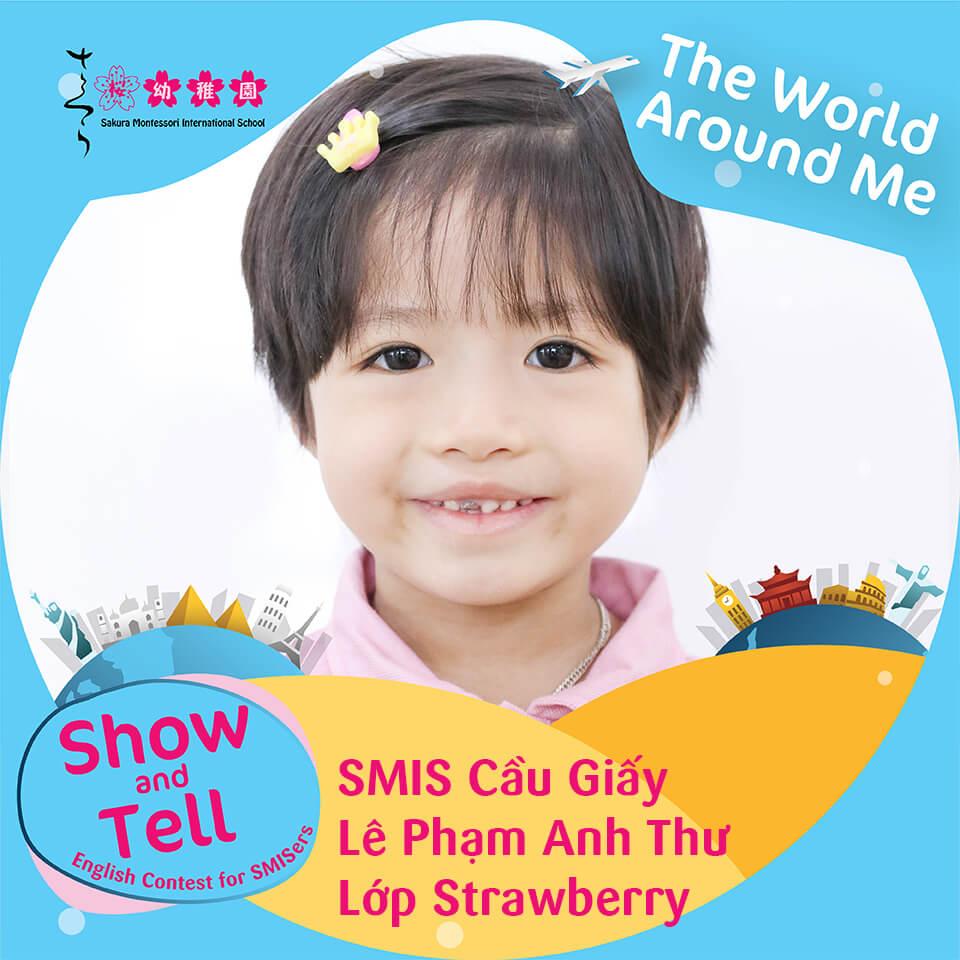 SMIS Cầu Giấy - Lê Phạm Anh Thư - Lớp Strawberry