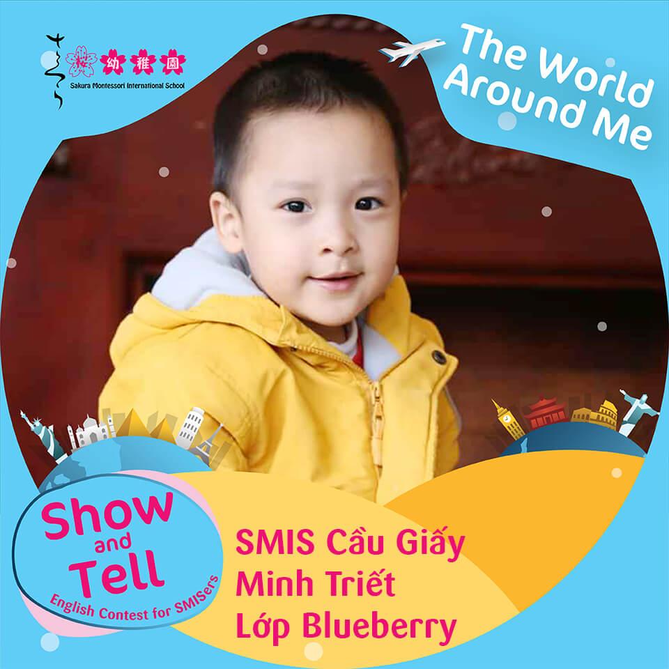 SMIS Cầu Giấy - Minh Triết - Lớp Blueberry