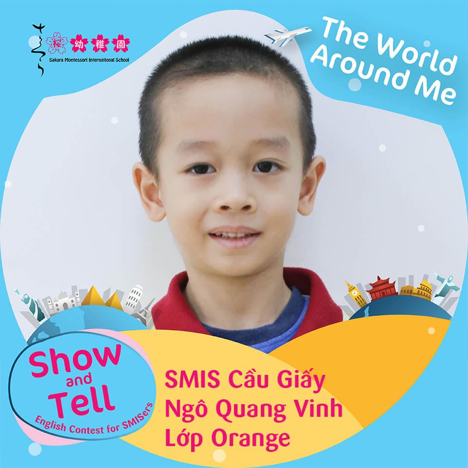SMIS Cầu Giấy - Ngô Quang Vinh - Lớp Orange