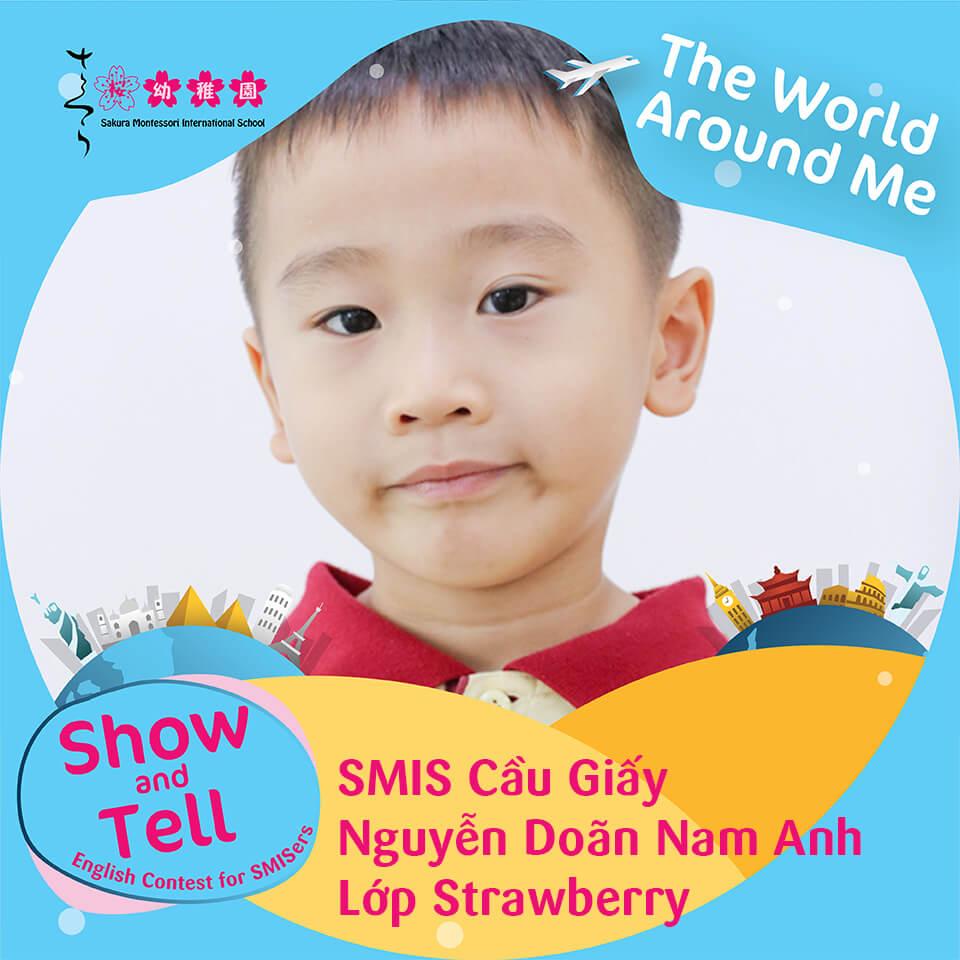 SMIS Cầu Giấy - Nguyễn Doãn Nam Anh - Lớp Strawberry