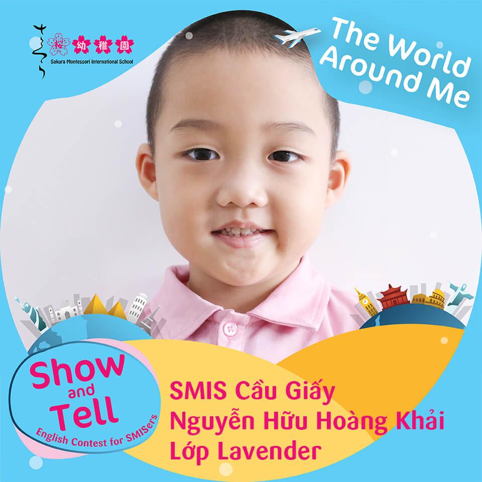 SMIS Cầu Giấy - Nguyễn Hữu Hoàng Khải - Lớp Lavender
