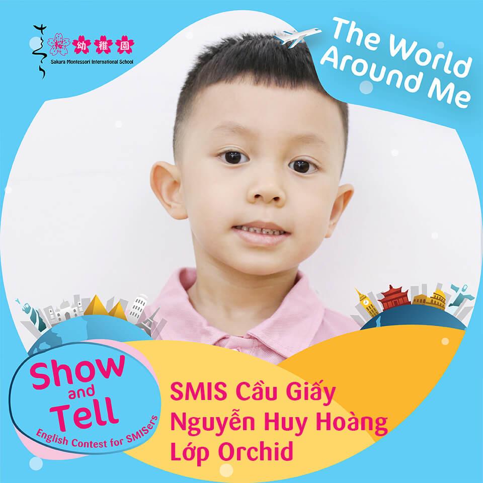SMIS Cầu Giấy - Nguyễn Huy Hoàng - Lớp Orchid